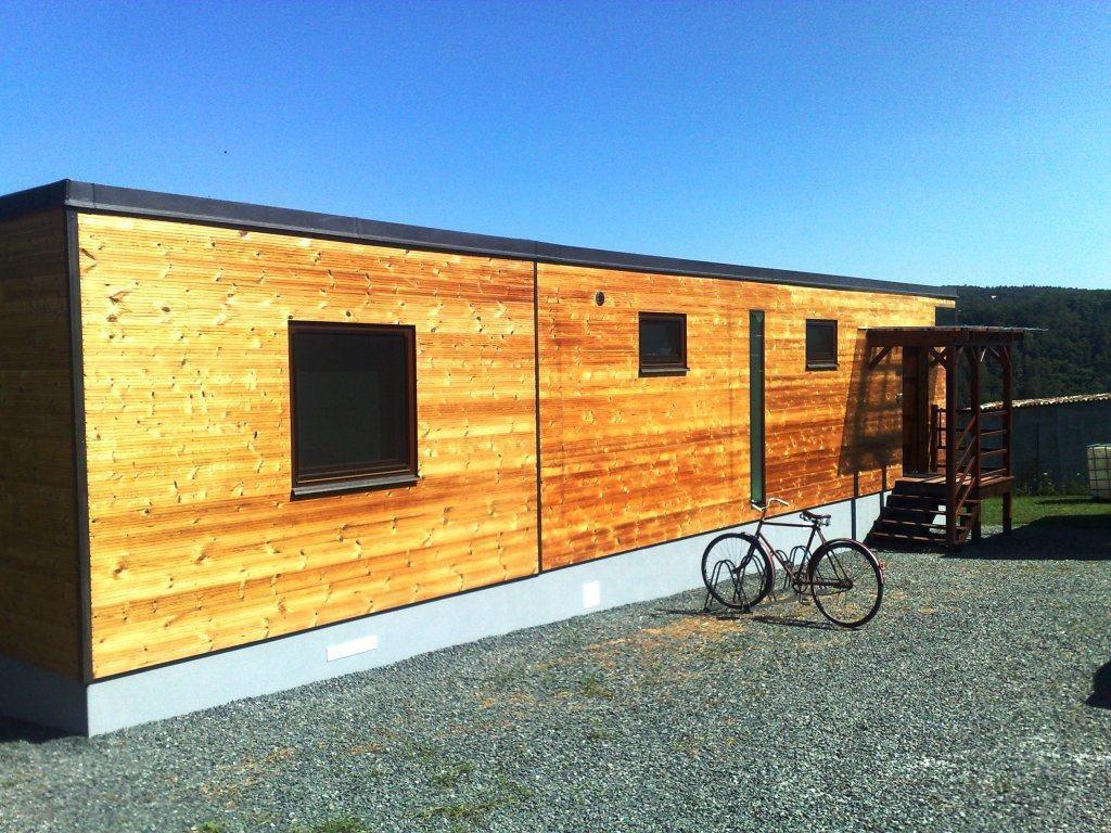 """Montovaný nízkoenergetický modulární dům """"L"""" 34"""