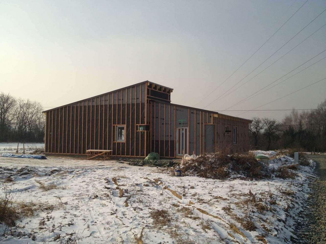 """Nízkoenergetický montovaný dům """"L"""" 35"""