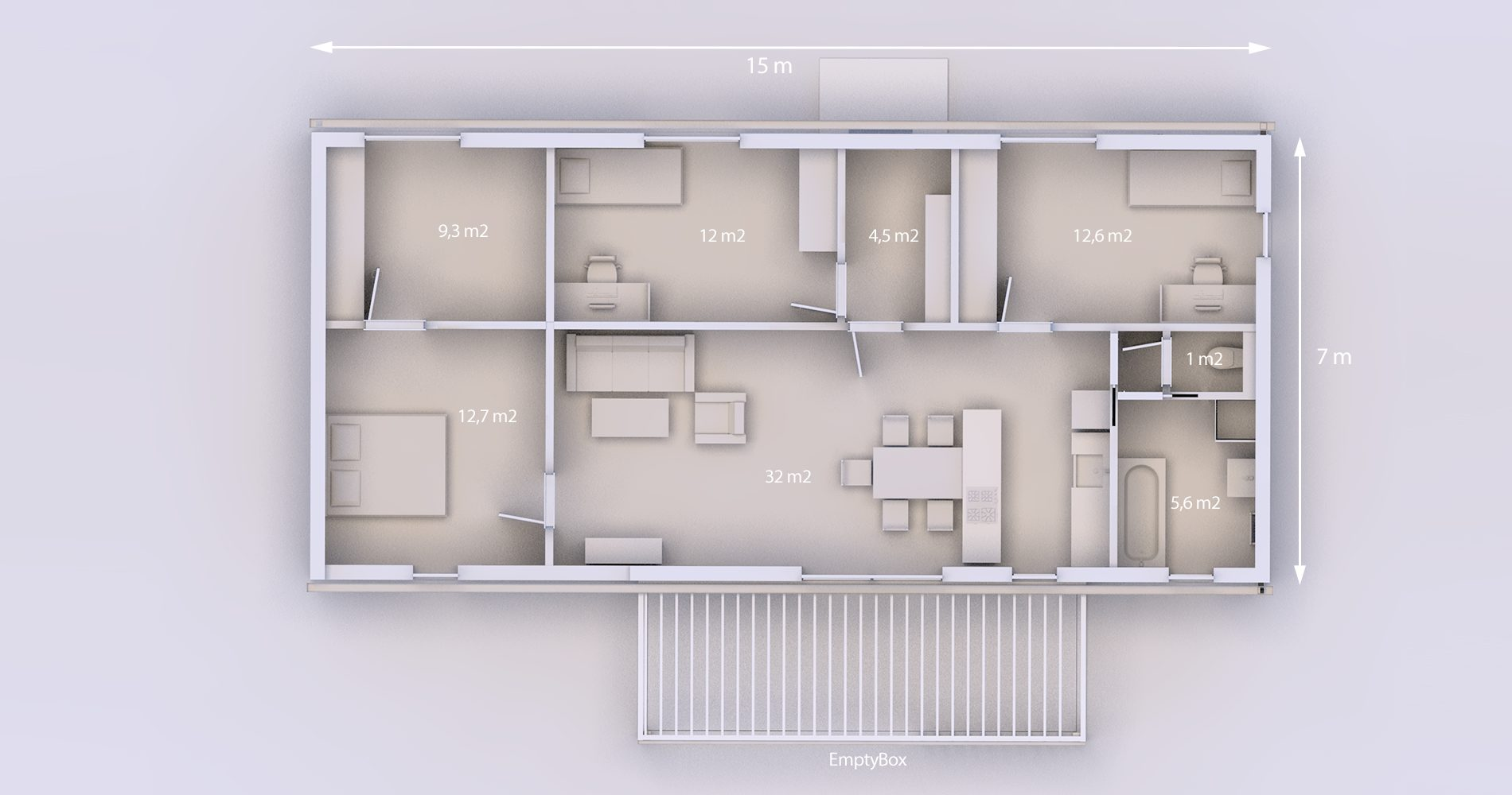 Rodinný dům 105 4+kk 21