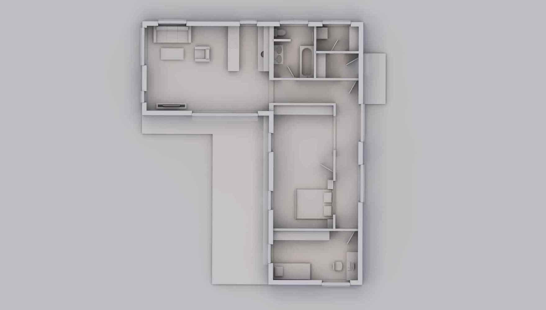 Rodinný dům L104 4+kk 3