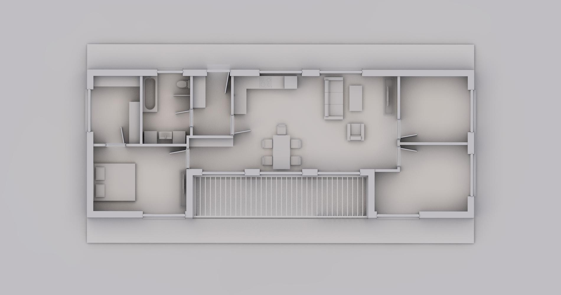 Rodinný dům U111 4+kk 7