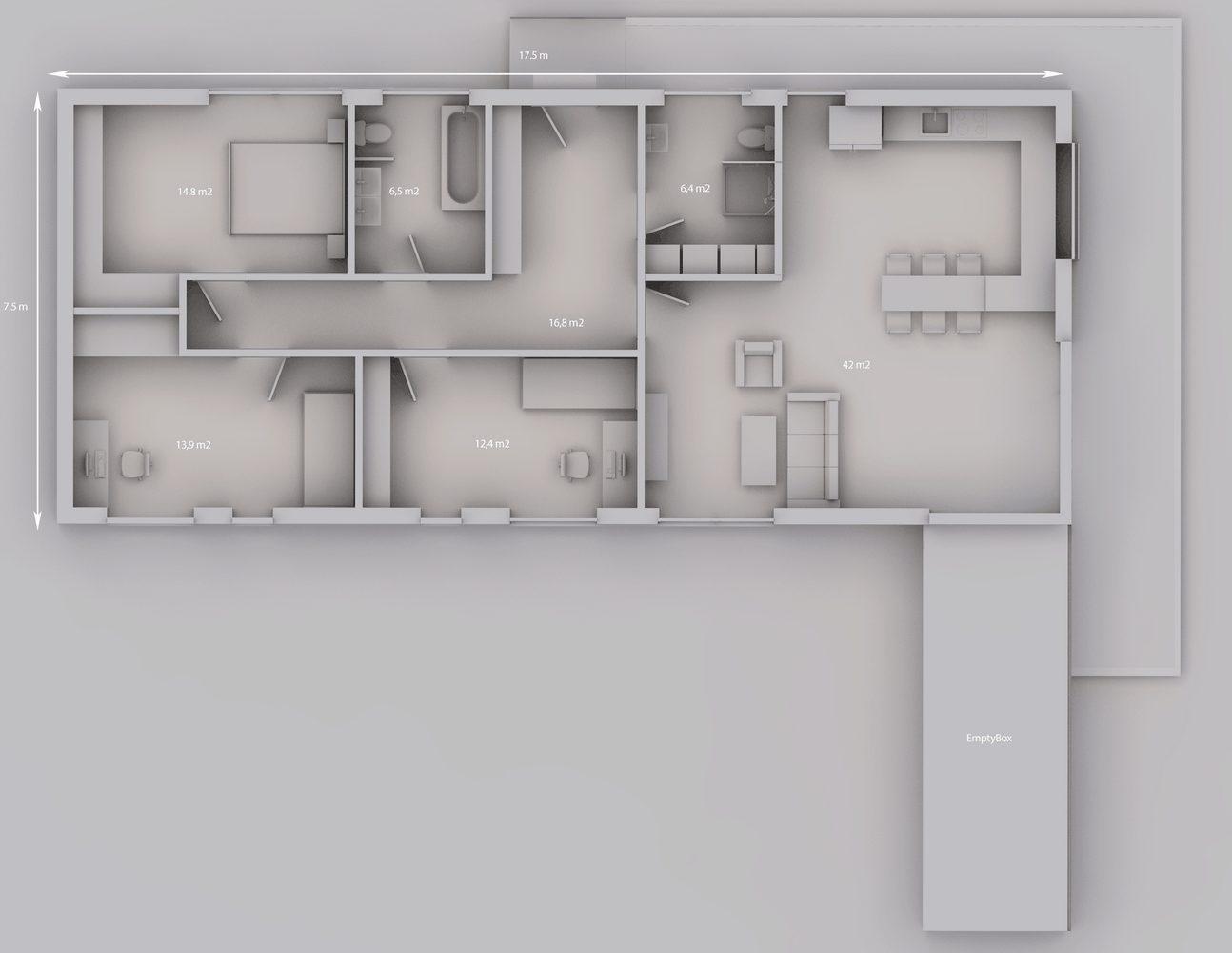 Rodinný dům 131 5+kk 1