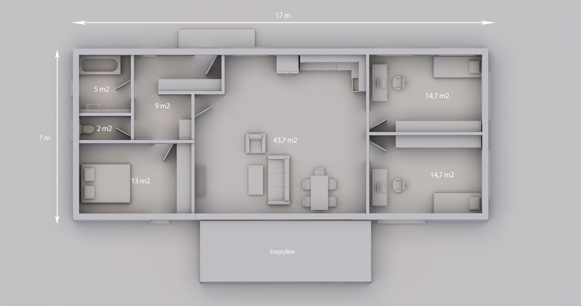 Rodinný dům 119 4+kk 2