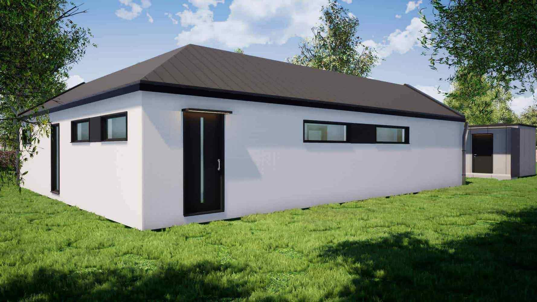 Rodinný dům L104S 4+kk 1